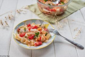 Cuisines les courges : salade de pâtisson
