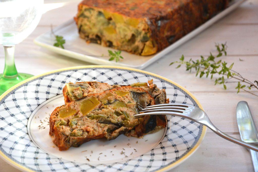 Terrine de légumes d'été provençale - Au Fil du Thym
