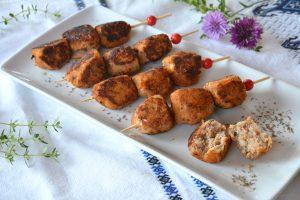 Boulettes poisson tomate - idée facile pour petits gourmands - Au fil du thym