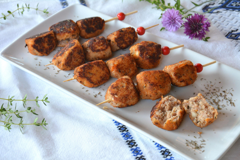 Boulettes de poisson à la tomate {crousti-moelleuses}