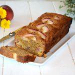 Cake aux pêches et noisette - un goûter ou petit dej' gourmand