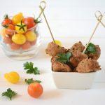 Falafels tofu fumé aux fines herbes (au four)