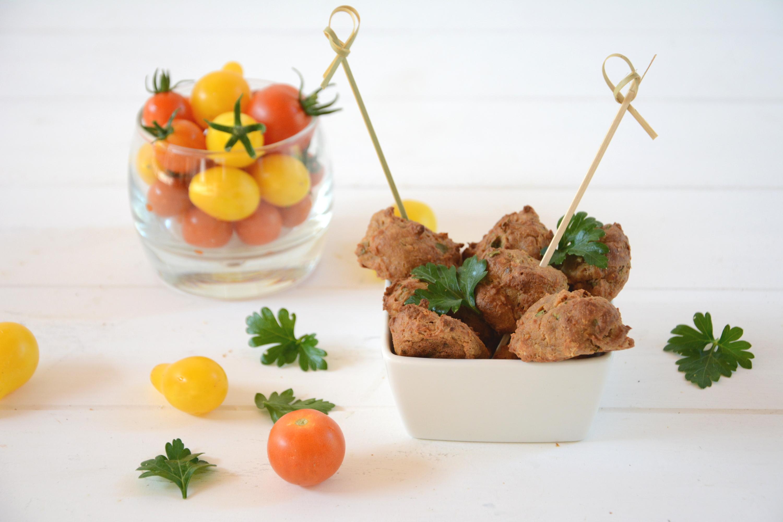 Falafels de tofu fumé aux fines herbes (et au four)