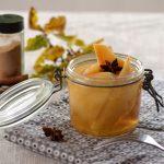 coings au sirop de badiane et cannelle - idée dessert léger et gourmand
