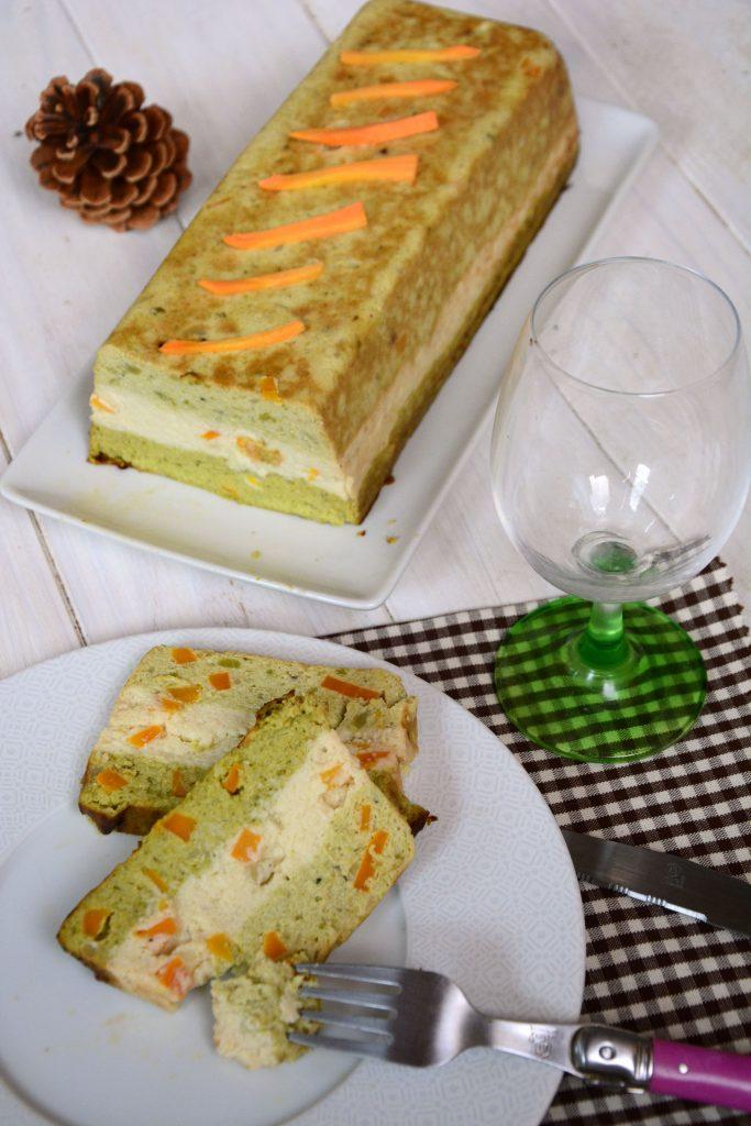 Terrine tout choux / terrine legume chou fleur brocolis romanesco