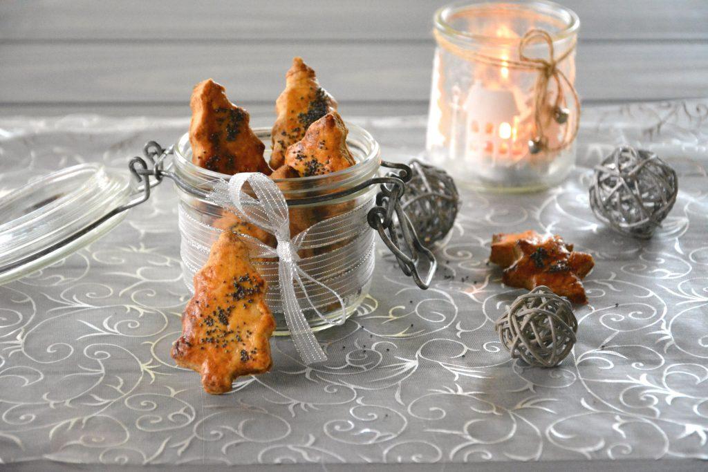 Biscuits apéritif chèvre pain d'épices - Idée de cadeaux gourmands ou apéro