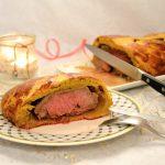 Boeuf en croûte de brioche épicée - Repas de Noël