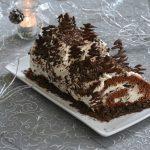 buche mascarpone chocolat - buche noël facile et délicieuse