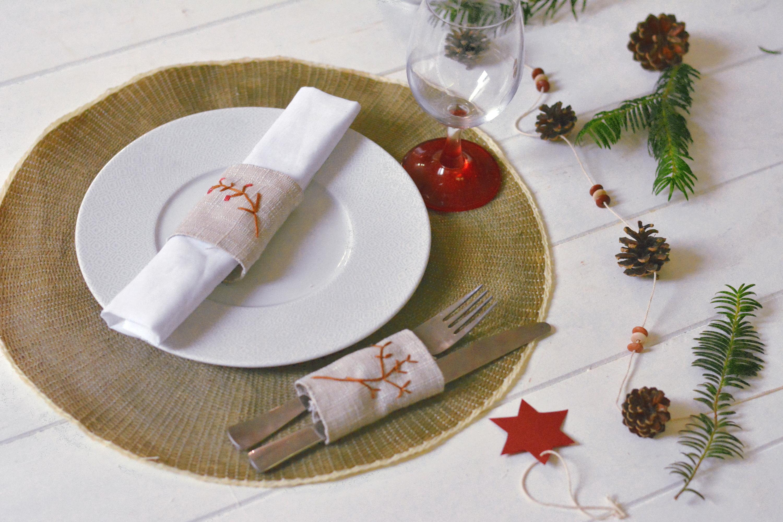 """4 idées de décoration pour une table de fête """"Nature"""""""