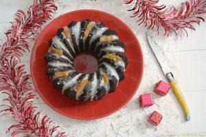 Gâteau au chocolat, épices de Noël et oranges confites - Dessert de Noël - Au Fil du Thym