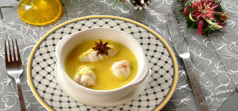 Roulés de sole aux épices (safran et curcuma) - recette de fête facile - Au Fil du Thym