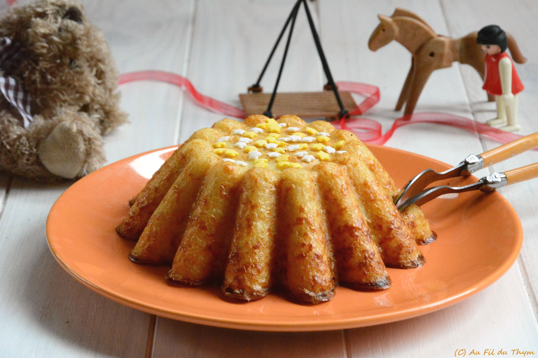 Gâteau de riz à l'ancienne (#comfort food)