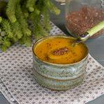 Soupe rutabaga au quinoa - cuisine saine d'hiver