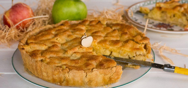 Tarte d'Yport - Tarte pommes et amandes - Au Fil du Thym