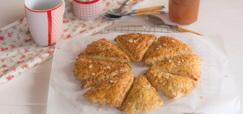 scones flocons avoine et citron - recette facile - au fil du thym
