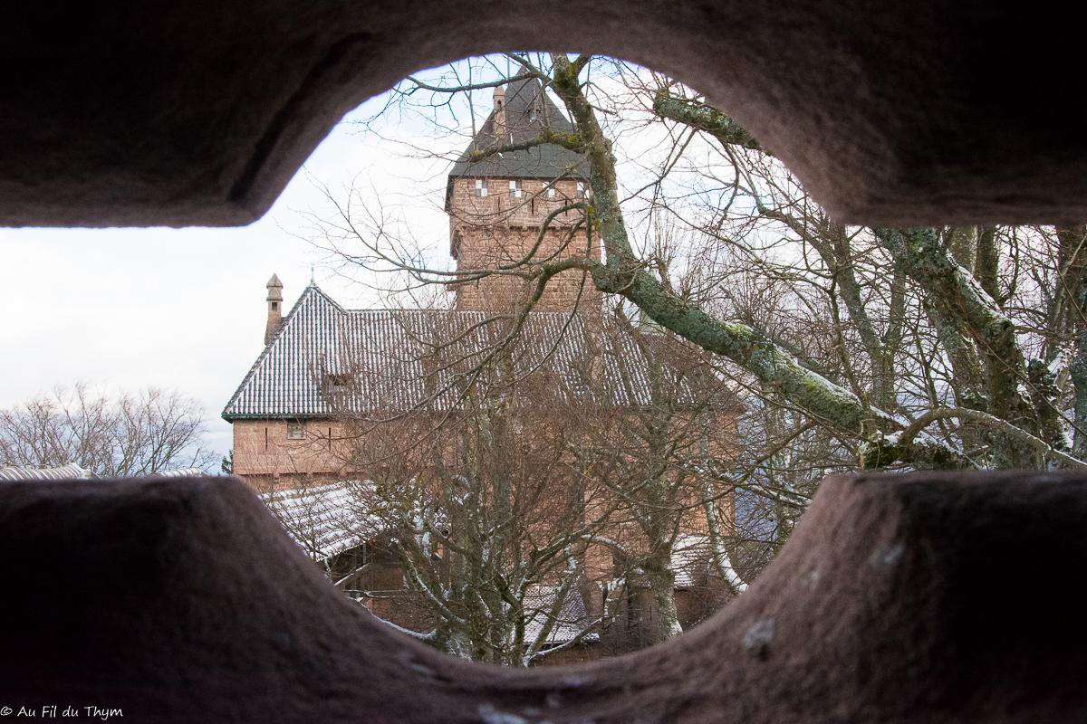 Epoustouflant Château du Haut-Koenigsbourg (Alsace)