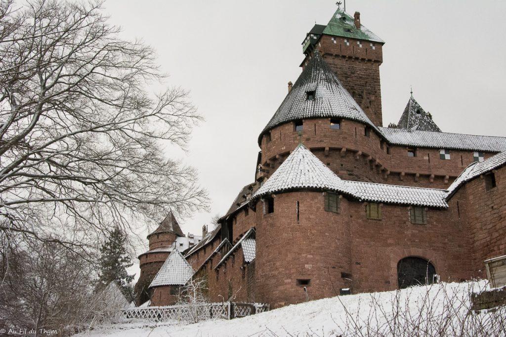 Château du Haut Koenigsbourg enneigé
