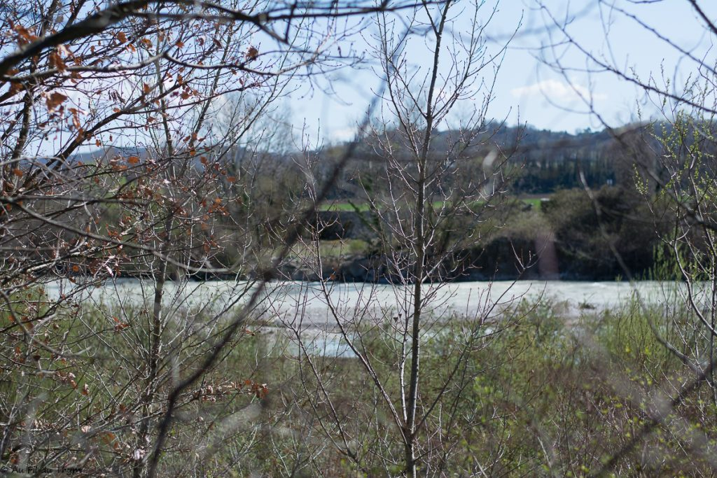 Drome tumultueuse au printemps - réserve des Ramières - Au fil du Thym