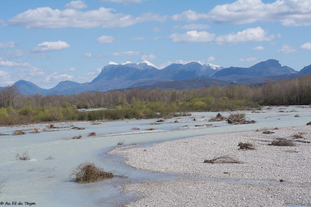 Vue sur les 3 becs des Ramières - Drôme