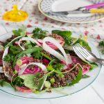 salade printaniere quinoa - au fil du thym
