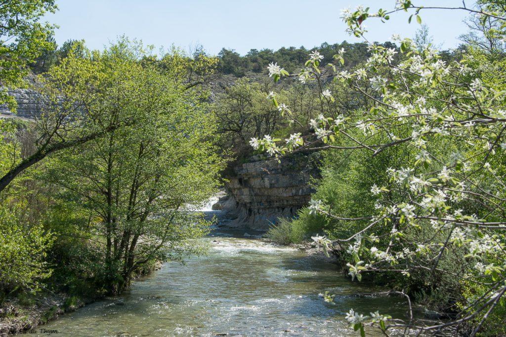 Randonnee saou Bois sec Vaire - Gorges du Roubion