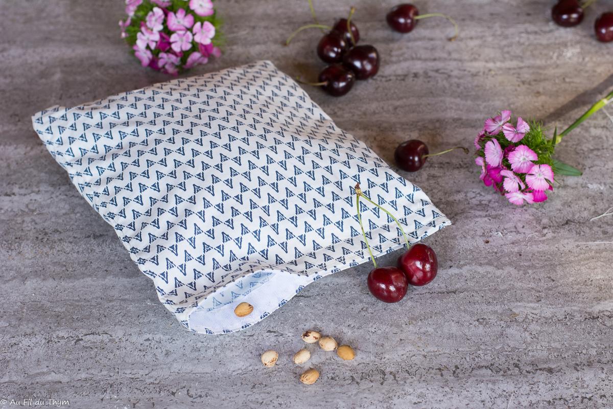 DIY – Bouillotte sèche aux noyaux de cerise (zéro déchet)