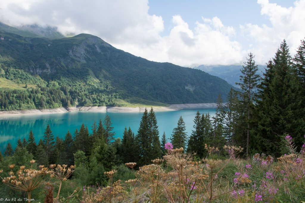 Lac de Rosenberg - Idées sorties vacances Beaufort