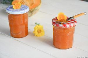 Confiture Melon & Vanille toute douce - recette été
