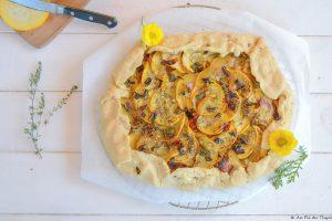 Maxi tarte rustique légumes été - idée repas d'été facile