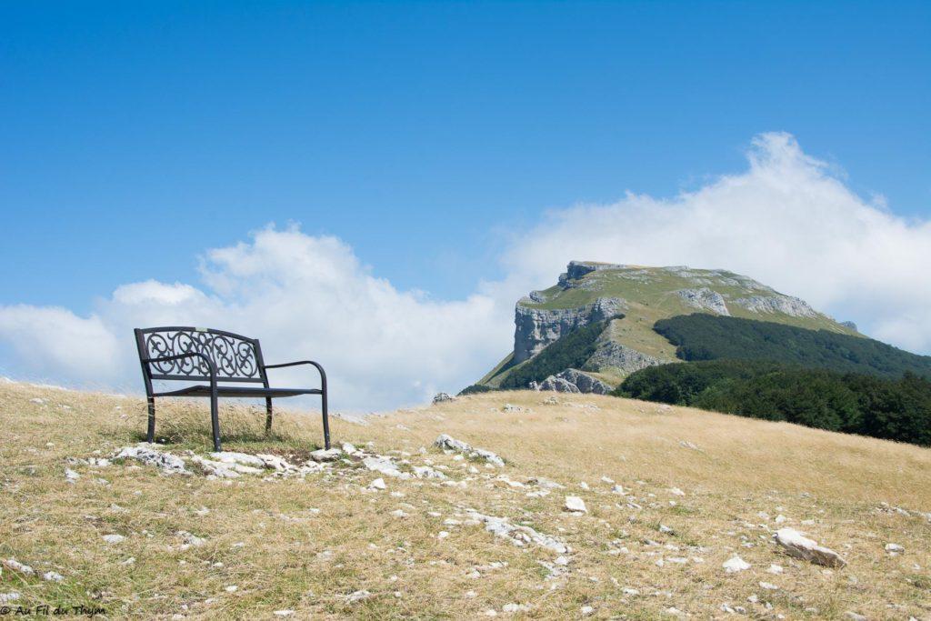 Randonnée plateau d'Ambel en été- Drôme - Vercors