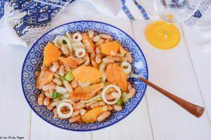 salade composee haddock fenouil haricot blancs orange- au fil du thym