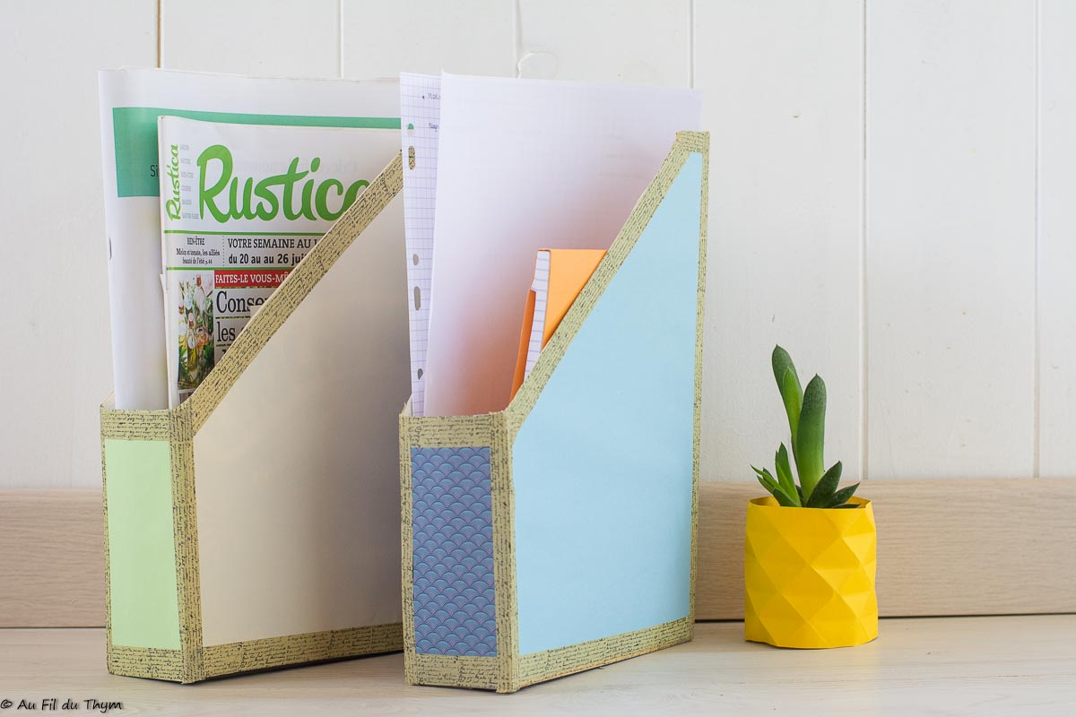 DIY rentrée – Trieurs en carton recyclé (zéro déchet)