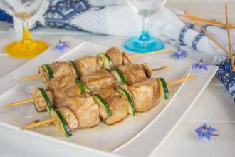 brochette poisson soja gingembre - Une idée savoureuse pour un repas été