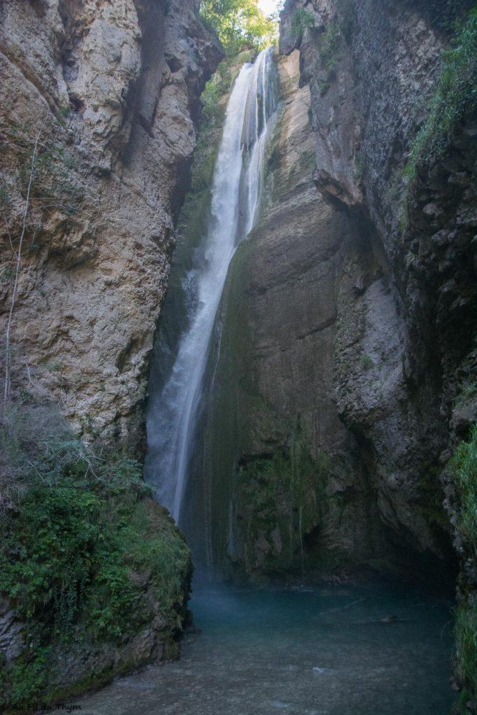Chute de la Druise - Omblèze, Vercors