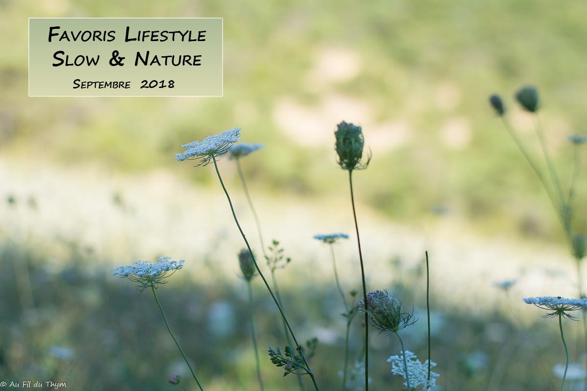 """Idées pratiques pour une vie plus """"Nature"""" – Septembre 2018"""