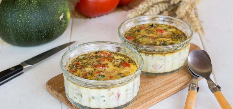 Frittata aux légumes d'été - Recette d'été facile et rapide
