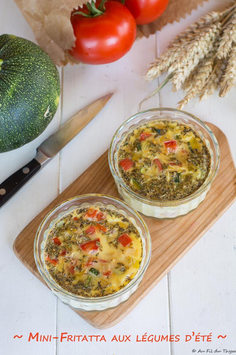 frittata légumes été - Une délicieuse recette été facile à réaliser