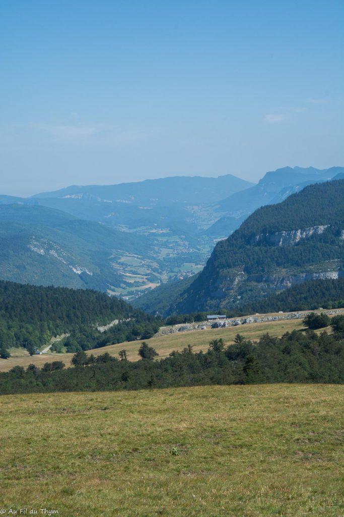Randonnée plateau Beure (Vercors) - Vallée de St Agnan en vercors