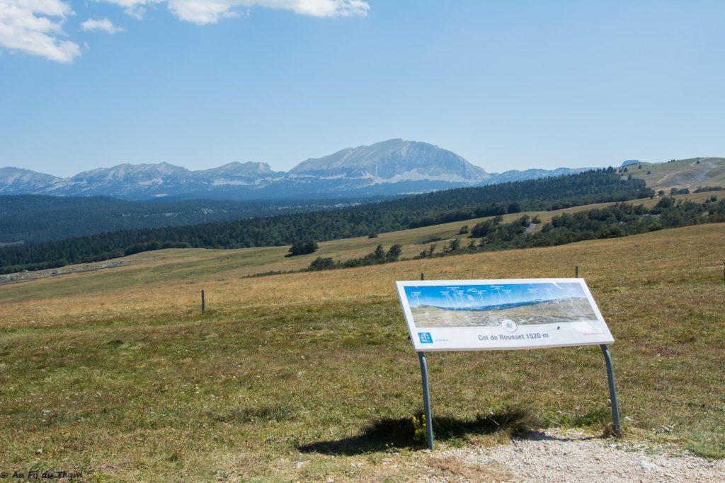 randonnee plateau beure (Vercors) - Col du Rousset