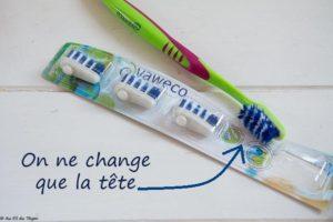 brosse à dent écolo -   astuces zéro déchet salle de bains