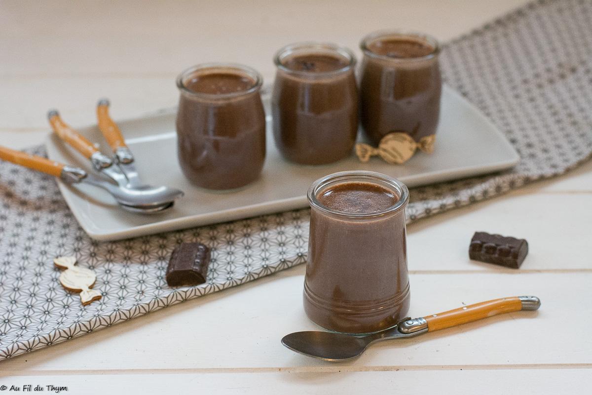 Crèmes dessert chocolat-soja (végétales)