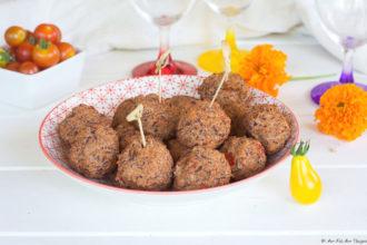 Falafels haricots rouge epices douces - au fil du thym