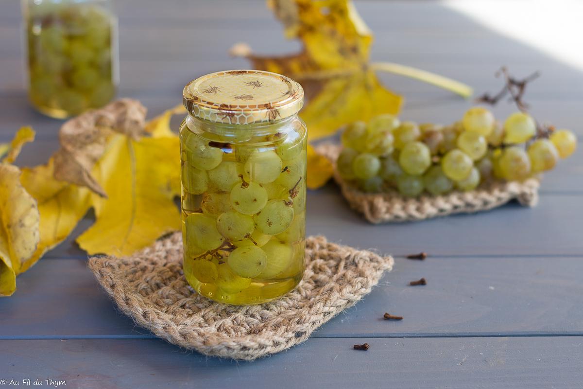 Pickles de raisin frais