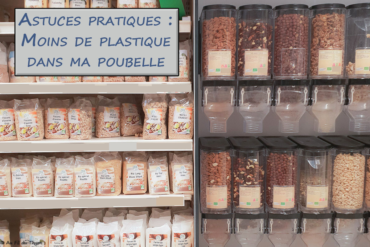 – Ecologie – Idées pratiques pour jeter moins de plastique