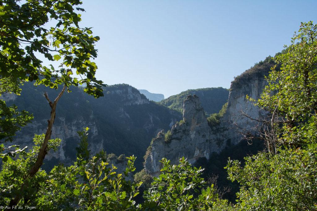 Randonnée oriol-en-royans / Aperçu des dentelles du Vercors