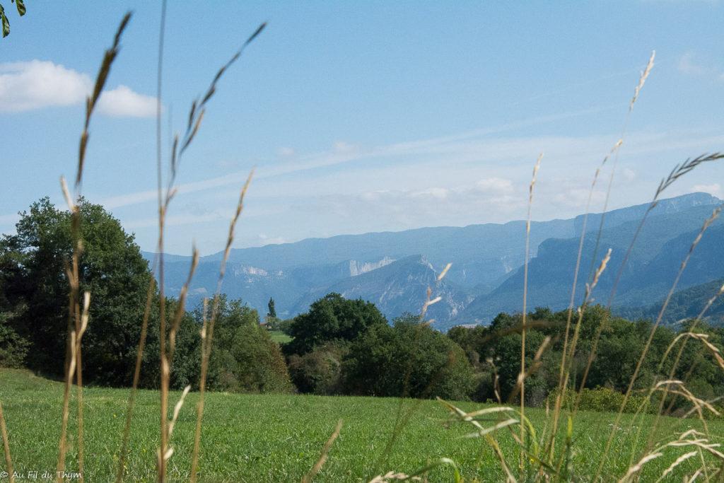 randonnée oriol-en-royans / paysages du Vercors