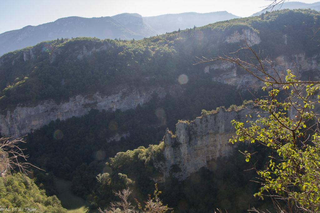Autour du Pas de l'écho / randonnée oriol-en-royans