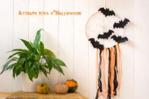 Attrape reve Halloween // DIY Déco Halloween Facile - Au fil du thym
