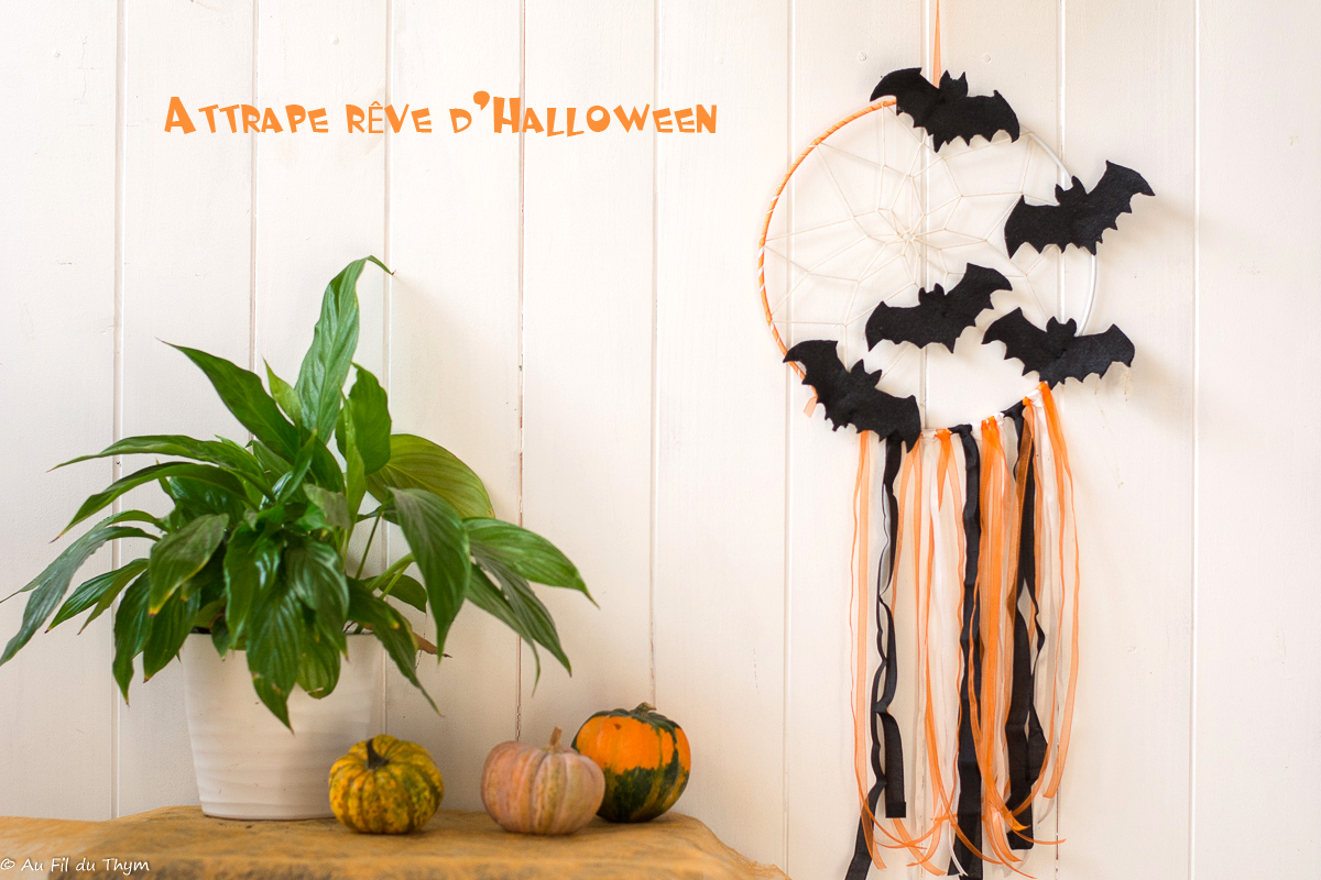 DIY – Un attrape rêve d'Halloween