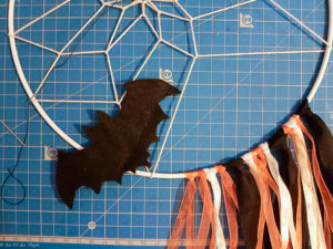 DIY attrape reve Halloween - Tutoriel